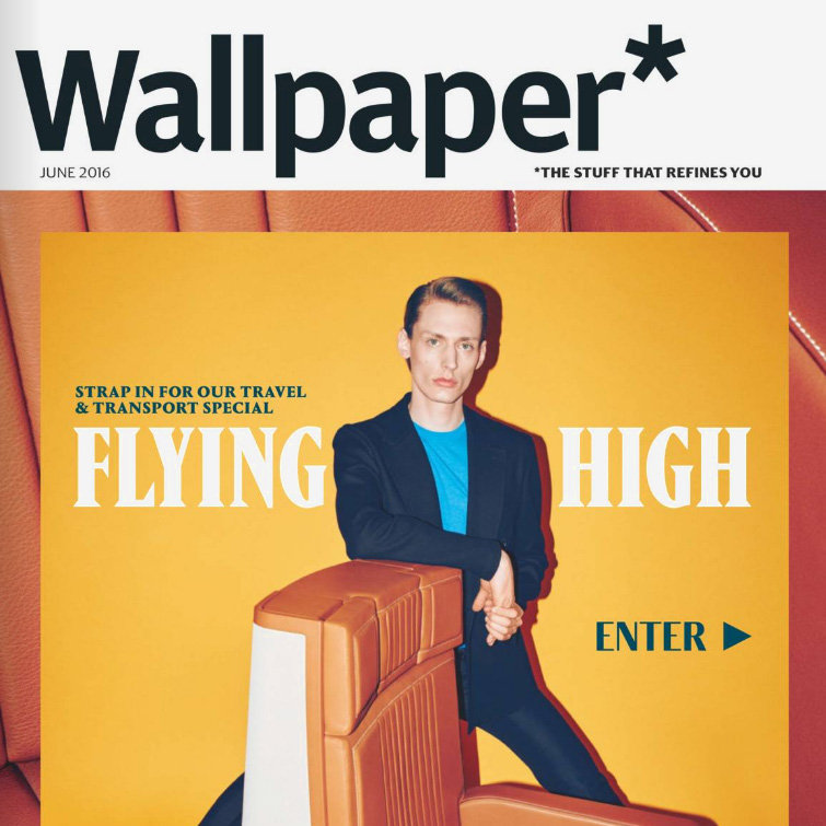 Wallpaper Magazine Cover