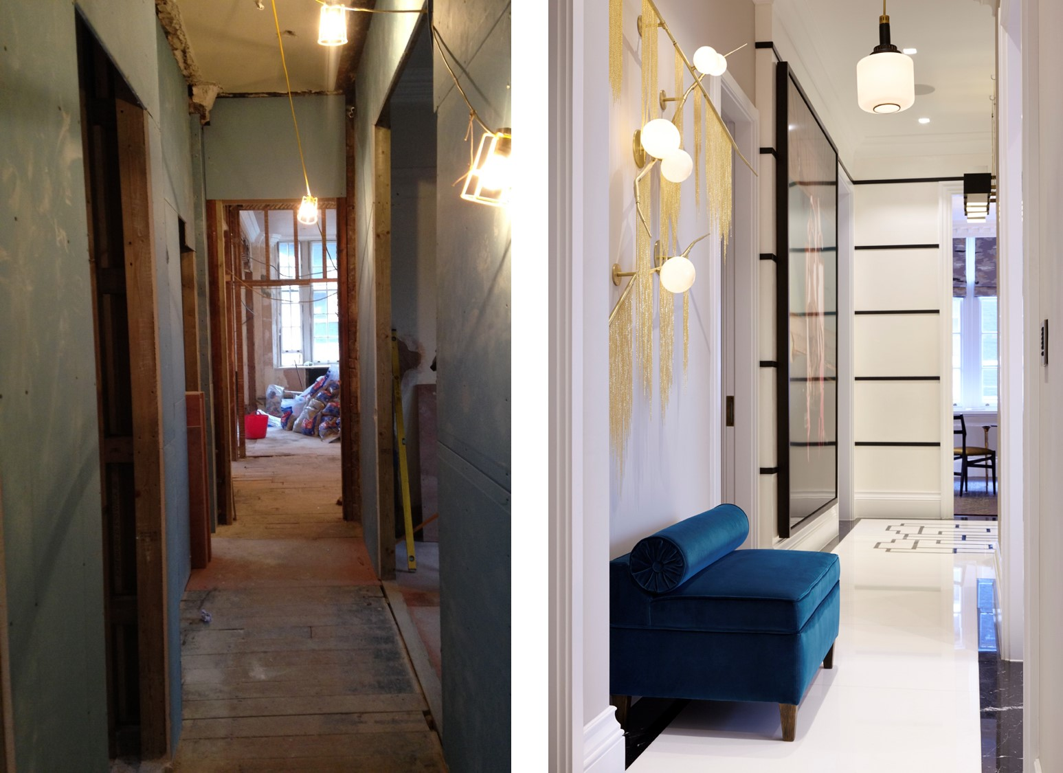 dream development by shalini misra mayfair squat reception before and after shots