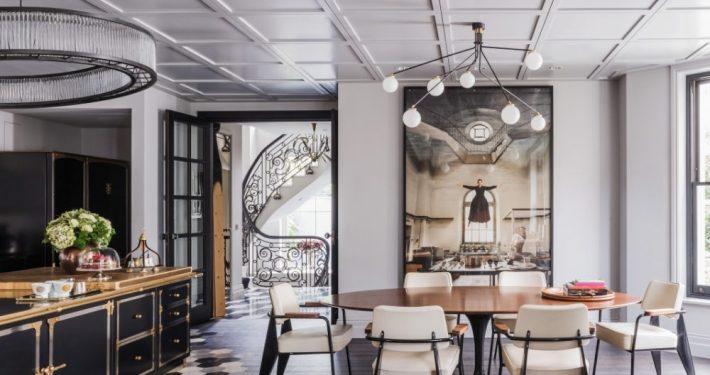 Shalini Misra Chelsea House Dining Room Space