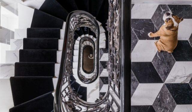 Shalini Misra Chelsea House Stairs