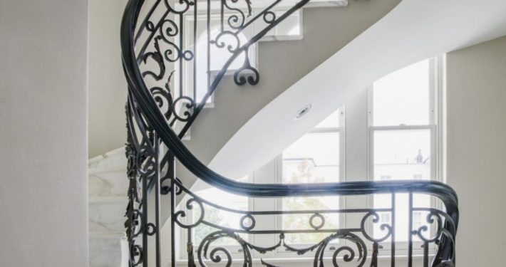 Shalini Misra Chelsea House Staircase