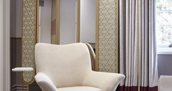 Holiday House Bedroom Cream Armchair