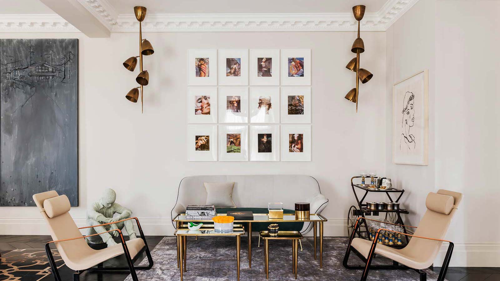 Chelsea Home Living Room Interior Design