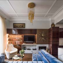 Shalini Misra Design Eaton Place Living Room