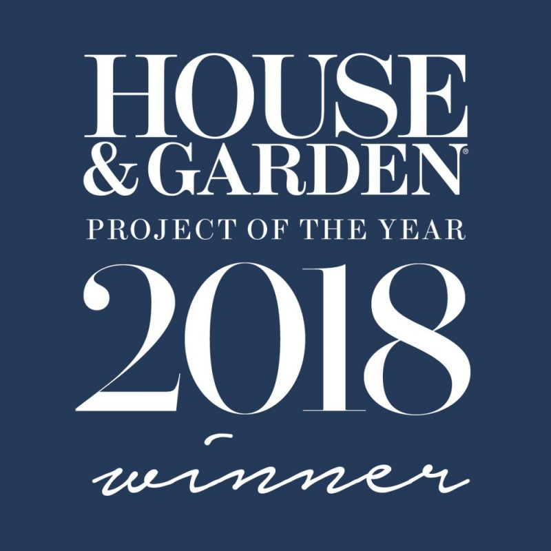 Shalini Misra Design Winner of House & Garden 2018 Project of the Year