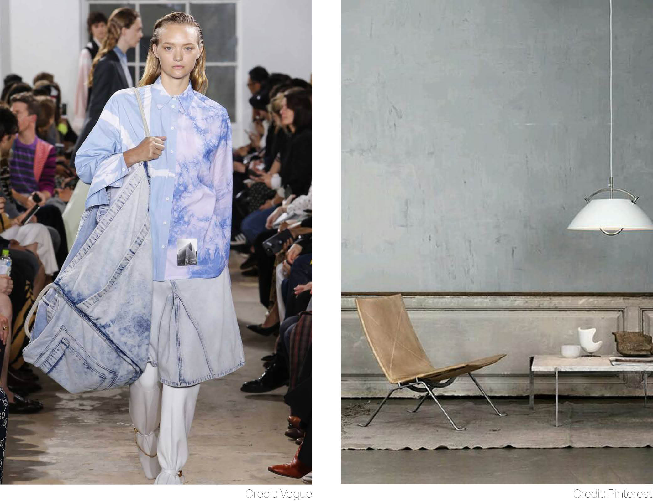 proenza schouler washed out dusk grey wallpaper breathes airiness into interiors