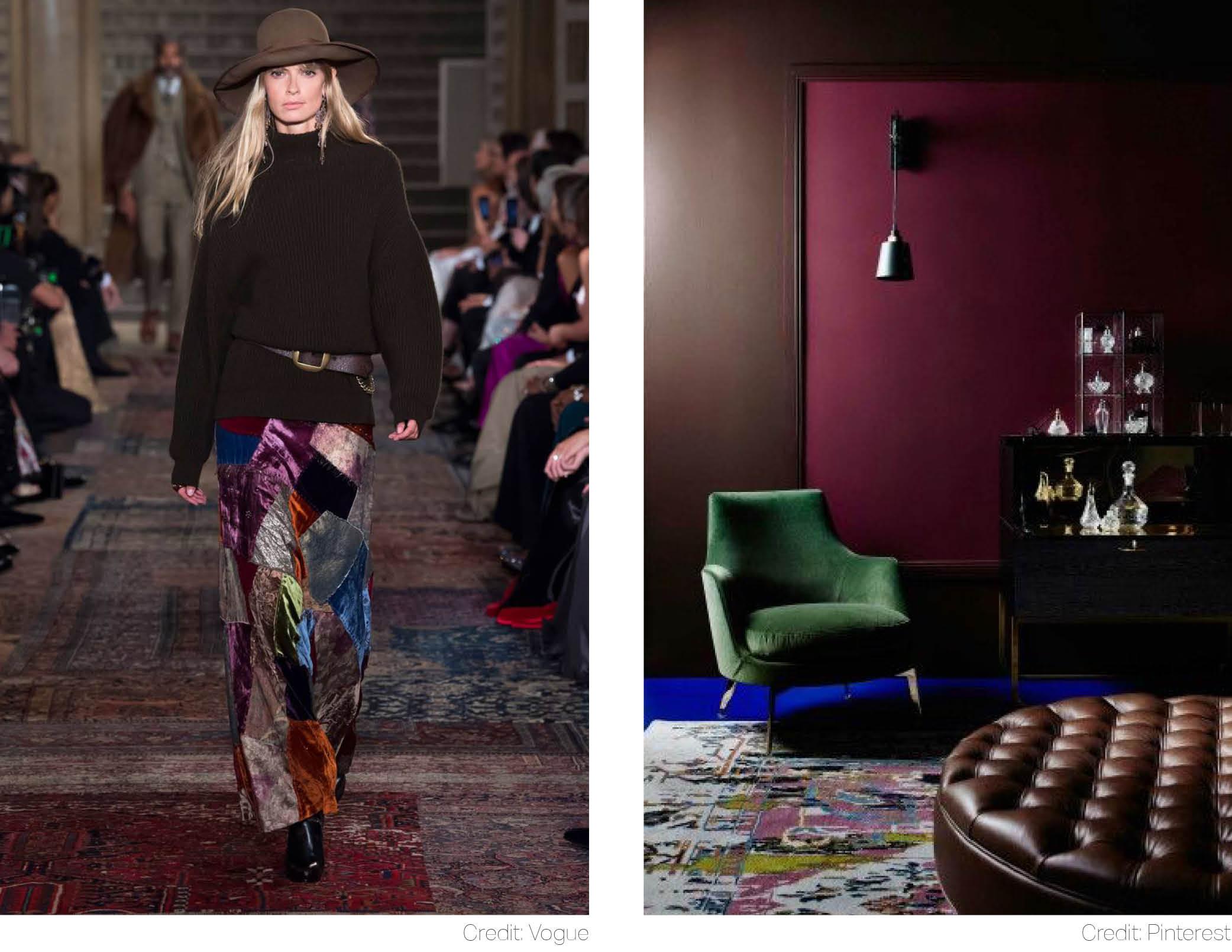 ralph lauren luxury velvet green armchair
