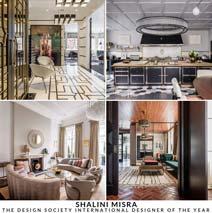 Shalini Misra Wins \u0027International Designer Of The Year\u0027 And \u0027Best City Space\u0027 At The International Design And Architecture Awards 2018 & Shalini Misra | Luxury Interior Design | London | Press