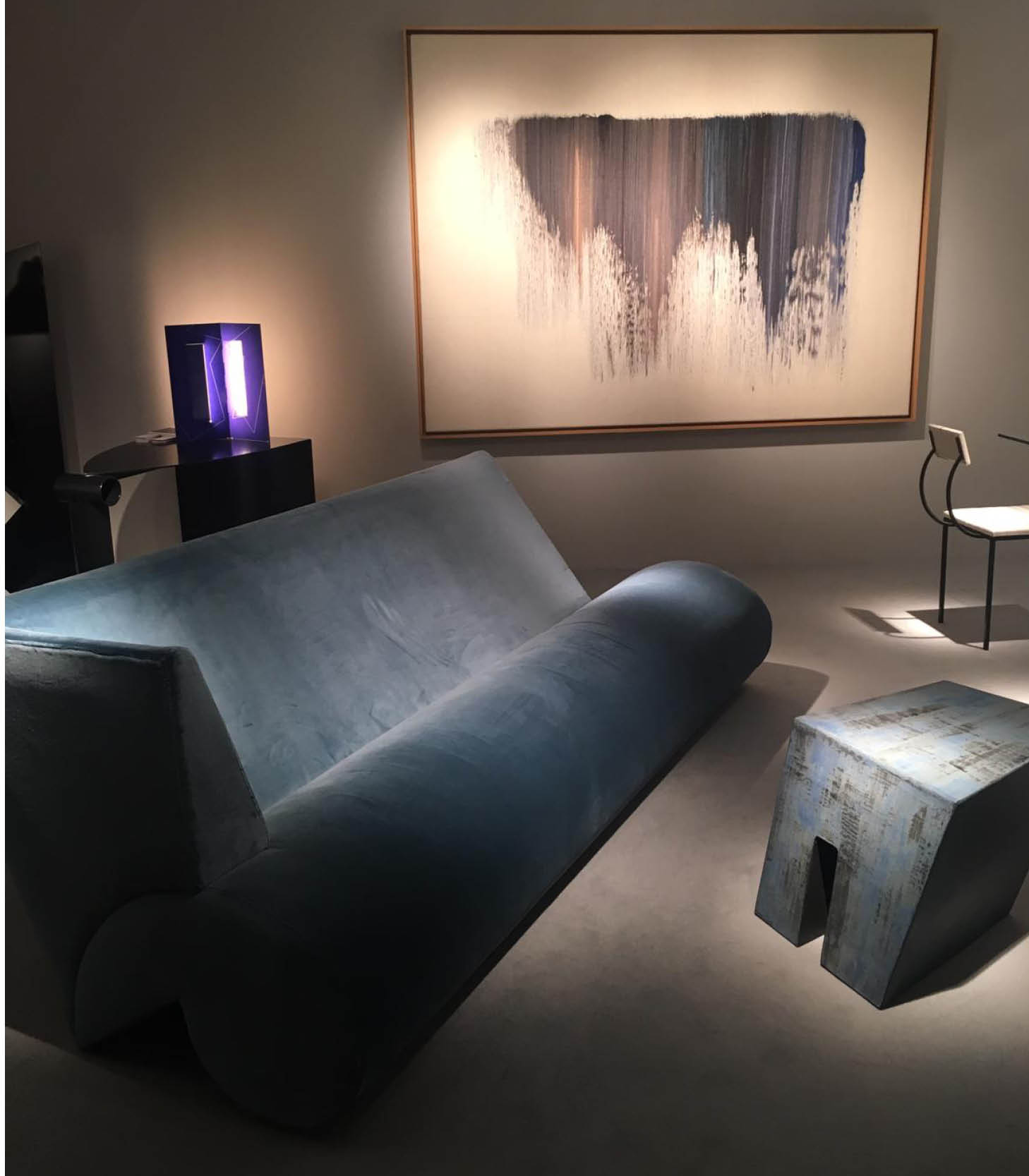 Blue 2 Armchair