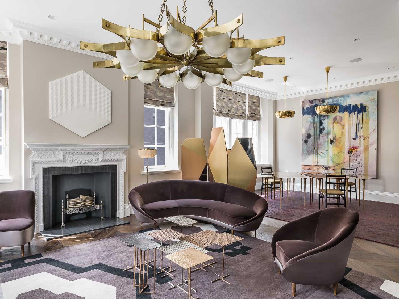 south audley street design living room