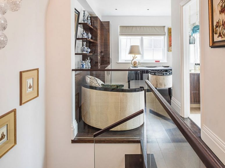 eaton place design stairs and landing