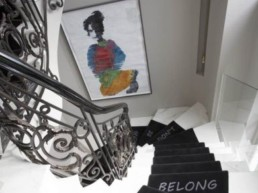 shalini misra staircase at chelsea gilston road