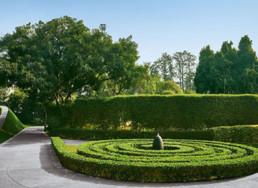 shalini misra interior design garden in chattarpur delhi