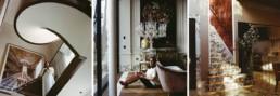 shalini misras landing living room & stairway