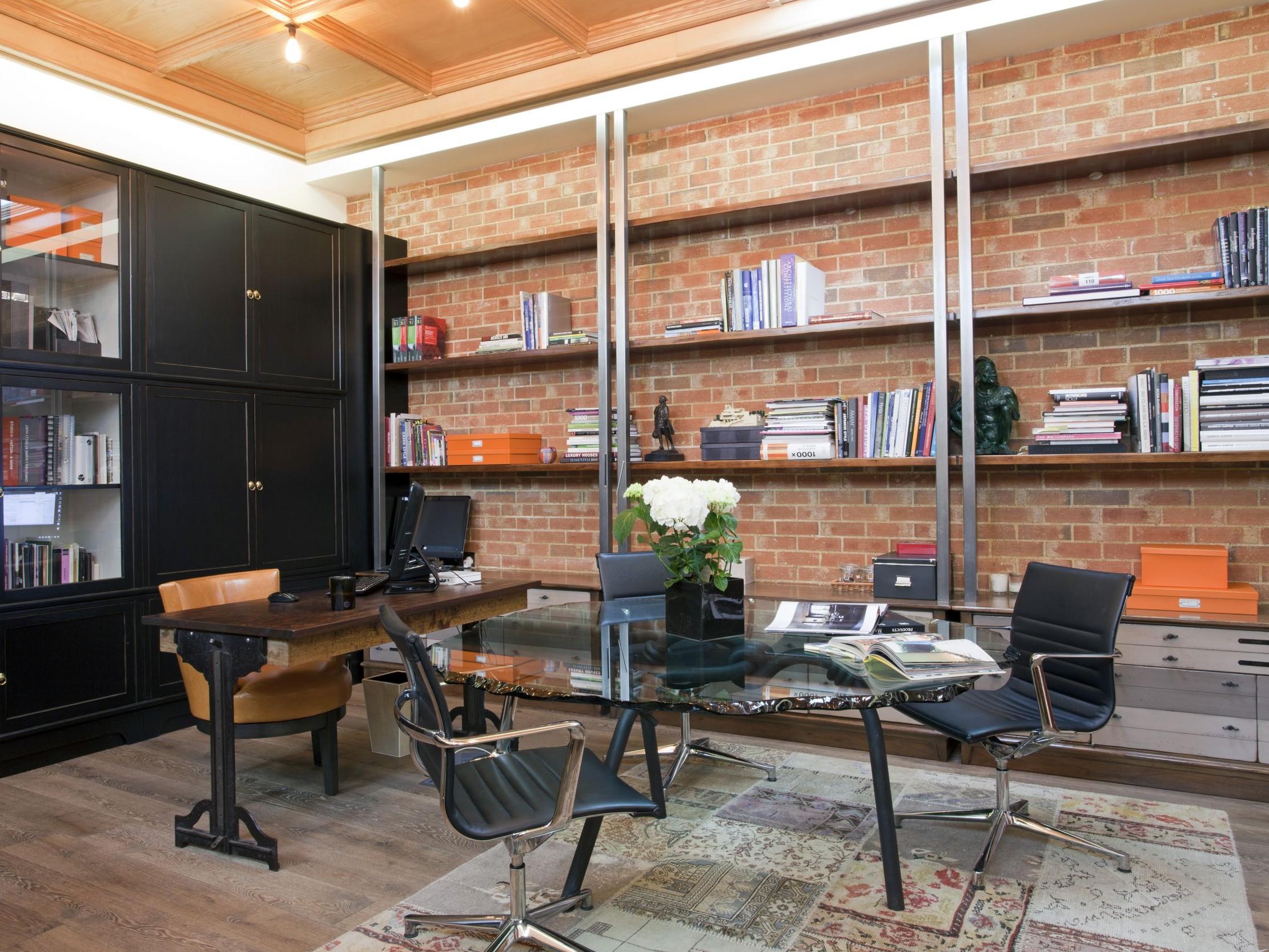 luxury office bookcase & shelving