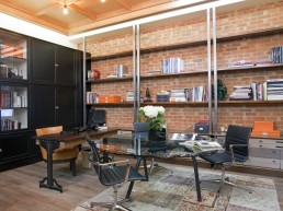 luxury office bookcase & shelving