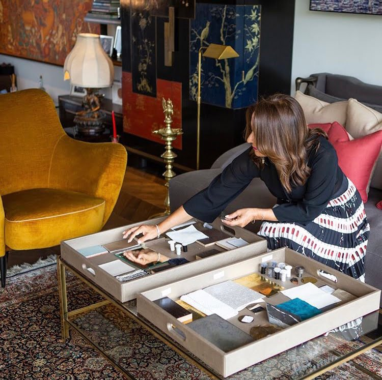 shalini misra interior designer sketching her vision