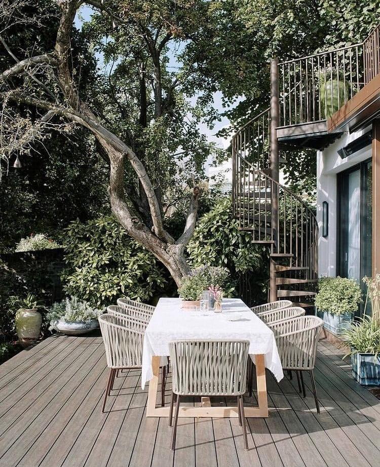 north london terrace garden
