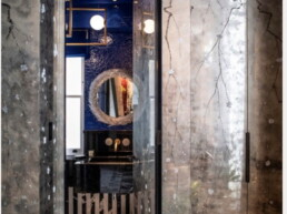 luxury bathroom wash basin & mirror