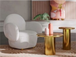 coronum coffee table small by scarlet splendour